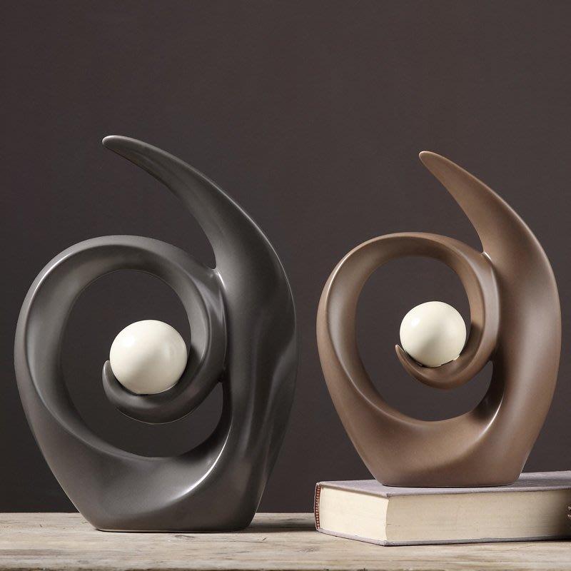 〖洋碼頭〗辦公桌飾品老闆辦公室桌面擺件書櫃創意陶瓷擺設辦工作擺飾品 wsj218