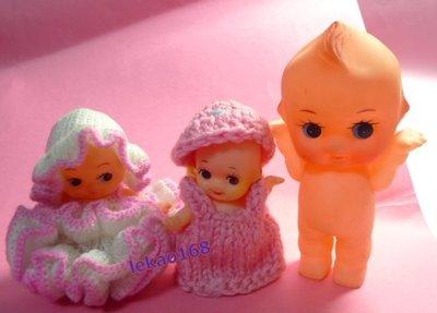 日本早期穿澎澎裙的Q比娃娃 3點入 [ 新到貨 ]