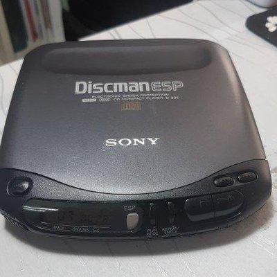 Sony Discman ESP CD D-235 CD隨身聽 日本製