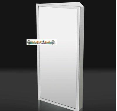 【yapin小舖】304不鏽鋼鏡櫃/鏡箱/化妝鏡/衛浴鏡/防水衛浴鏡/可當置物櫃/ 收納盥洗用具