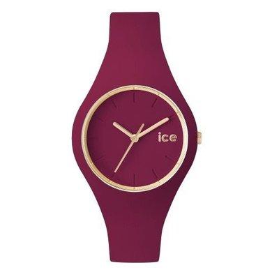 [永達利鐘錶 ] ICE watch 魅惑紫薄款簡約玫瑰金針膠帶錶ICE.GL.ANE.U.S.14原廠公司保固24個月