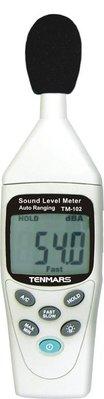 【電子超商】世駿 TEMMARS TM-102 數字式 噪音計