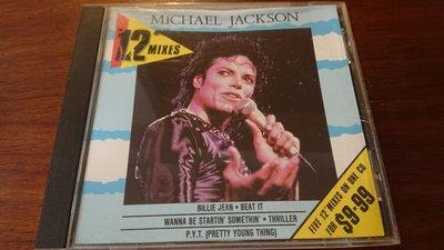 MICHAEL JACKSON 12吋單曲經典曲專輯1986年無ifpi發燒錄音盤流行音樂之王最經典之曲目極罕見盤收錄BILLIE JEAN BEAT IT等曲