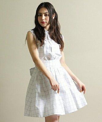 Snidel正品 格紋襯衫布洋裝 日本專櫃 1號(M)