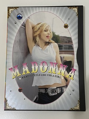 Madonna / What It Feels Like For A Girl 單曲DVD