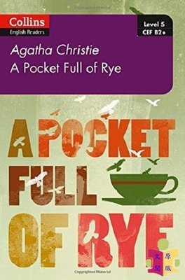 [文閲原版]黑麥奇案:B2+ 英文原版 Pocket Full of Rye: B2+ Level 5 Agatha C
