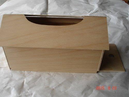 ~多桑原木傢飾~面紙盒~木器彩繪~蝶古巴特~押花~黏土~勞作手作材料