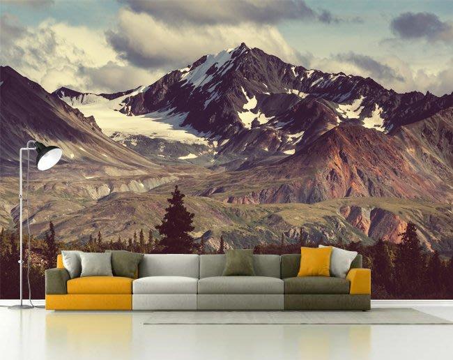 客製化壁貼 店面保障 編號F-723 高山樹木 壁紙 牆貼 牆紙 壁畫 背景牆 星瑞 shing ruei