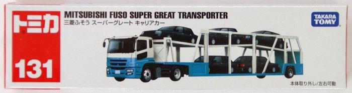 TOMICA 131 三菱汽車運輸車 /合金車/TAKARA TOMY/TM131