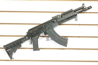 JHS((金和勝 生存遊戲專賣))免運費  LCT 全鋼製 TX-M 後座力電動槍 6207 EBB