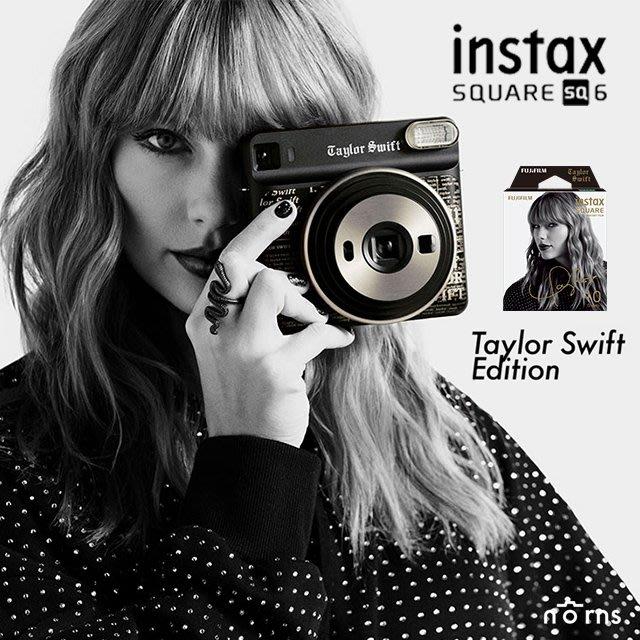 Norns【SQ6 泰勒絲Taylor Swift聯名款 相機加底片套組】限量特別版 親筆簽名 拍立得相印機 公司貨