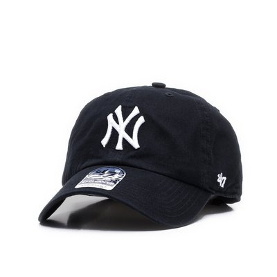 【YZY台灣】47 BRAND NEW YORK YANKEES 洋基 老帽 復古帽 老爺帽 MLB LOGO 經典 黑