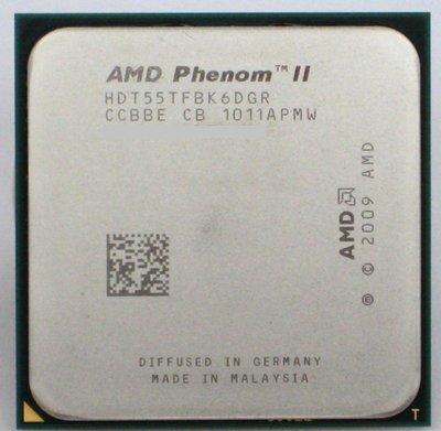 AMD Phenom II X6 1055T 六核心處理器 AM3+ 2.8G【L3快取-6MB、125W】庫存良好備品