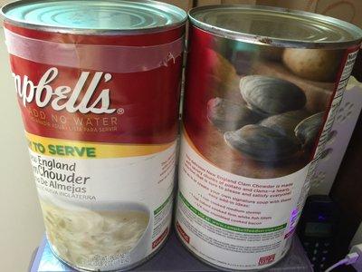 COSTCO代購  CAMPBELL'S 新英倫 蛤蜊濃湯 1.41kg/罐  *特價*