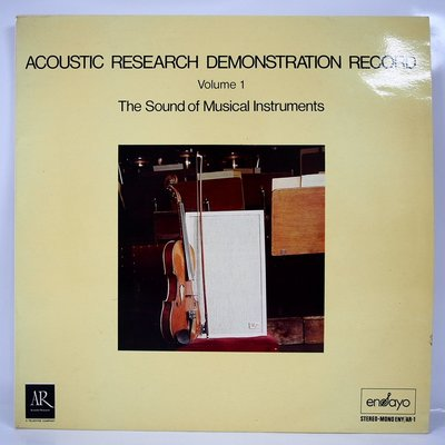 古典黑膠唱片 Acoustic Research Demonstration Record 發燒測試片