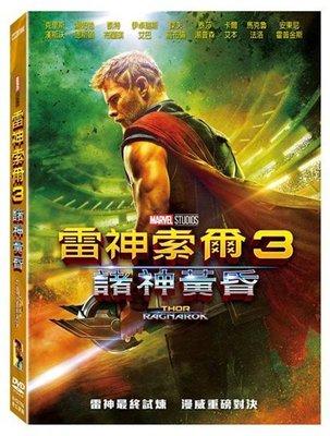 河馬音像~電影  雷神索爾3:諸神黃昏 DVD  全新正版~起標價=直購價