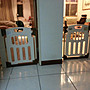 台灣製造,可雙向開門/自動上鎖/自動回門歸位_幼童安全門欄/圍欄(圖片適用範圍:71~89公分)