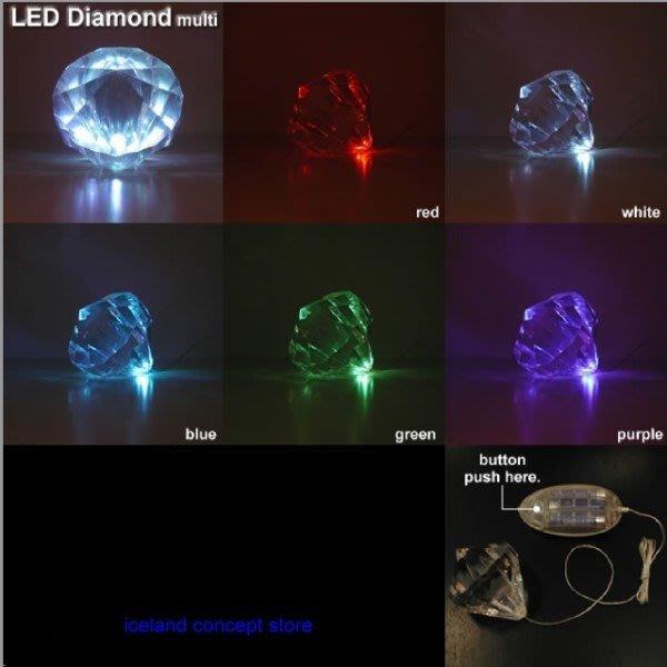 iceland ~ 水晶極光五色變幻鑽石吊燈 桌燈 設計燈飾 (賠錢賣NT$880,買到賺到)