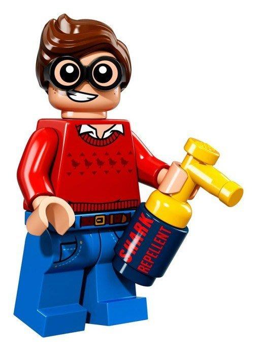 現貨【LEGO 樂高】Minifigures人偶系列: 蝙蝠俠電影人偶包抽抽樂 71017 | #9 羅賓+防鯊魚噴罐