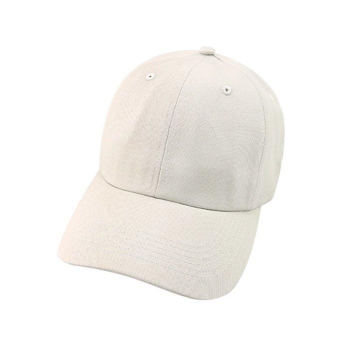 ☆二鹿帽飾☆  抗UV 休閒球帽/流行棒球帽/ 廚師帽/ 短帽簷7.5cm-台灣製-卡其色