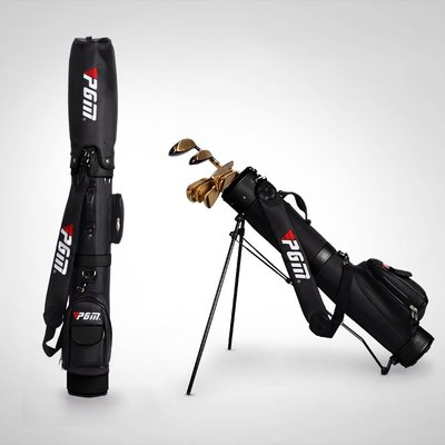 夏季熱賣Golf bag with bracket can be installed 9 club高爾夫球包
