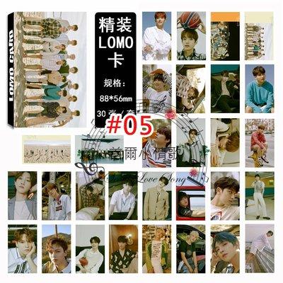 【首爾小情歌】SEVENTEEN 團體 LOMO  30張卡片 Vernon DK JeongHan  小卡組#05