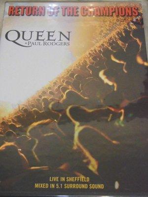 Queen + Paul Rodgers 皇后合唱團 冠軍回歸演唱會Return of the Champions