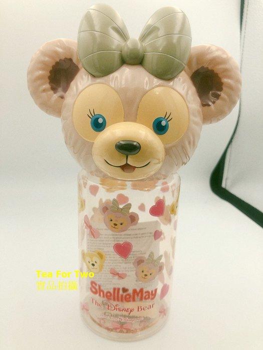 香港迪士尼正品(現貨BBOX) Duffy家族立體大頭水壺400ml - 雪莉玫