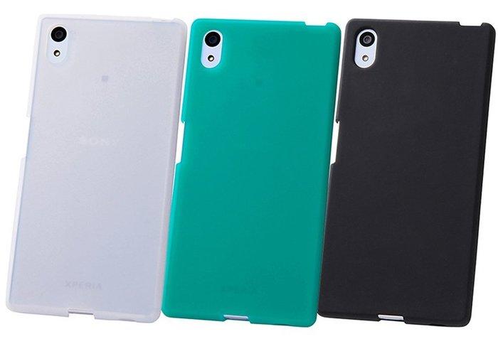 尼德斯Nydus~* 日本正版 Sony Xperia Z5 手機殼 保護殼 素面 矽膠軟殼 共3色