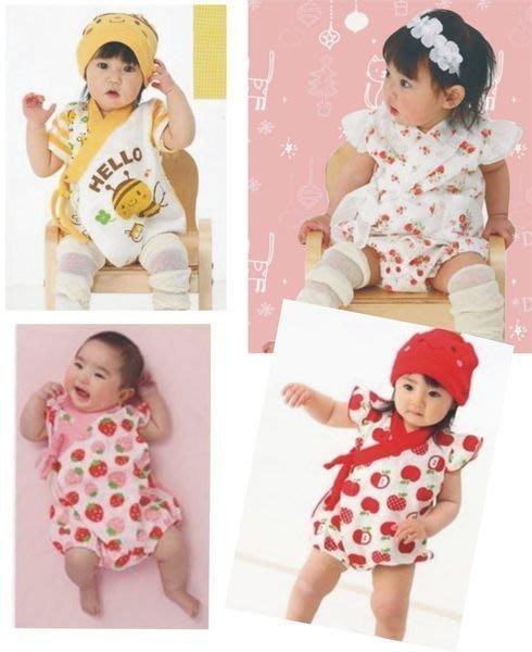 【達搭ㄅㄨˊ寶貝屋】日單多款可愛圖樣造型和服哈衣/包屁衣~最後2件