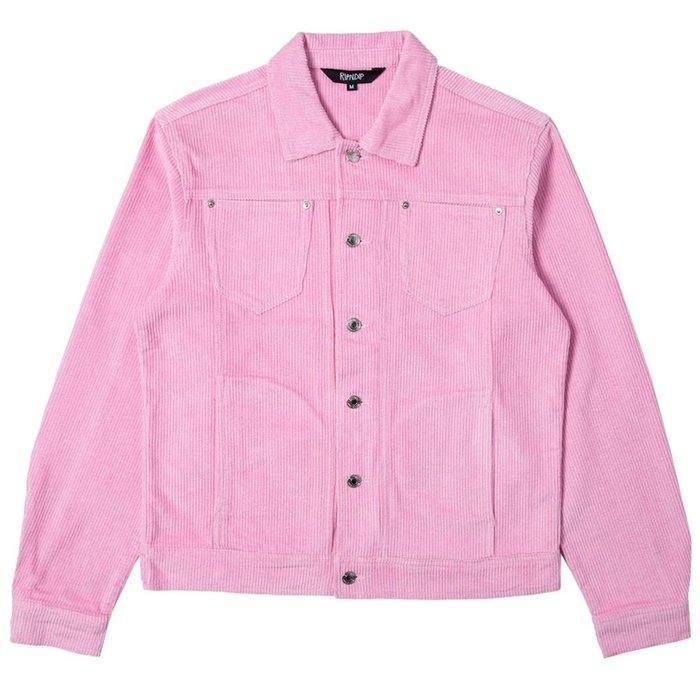 【A-KAY0】RIPNDIP 男女 CATCH EM ALL JACKET PINK 粉紅【RND3902PINK】