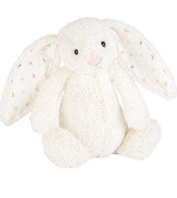 (預購)英國 JELLY CAT Bashful Twinkle bunny large soft toy 31cm