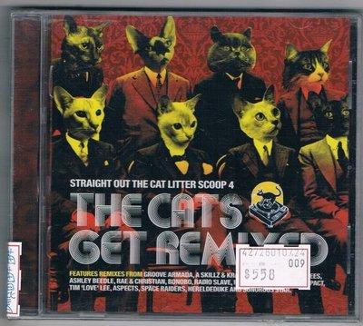 [鑫隆音樂]西洋CD-STRAIGHT OUT THE CATLTTER SCOOP 4/THE CATS GET REMIXED(全新)