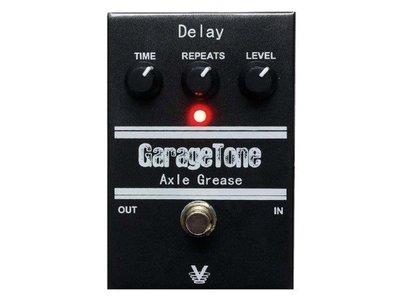 大鼻子樂器 Visual Sound GarageTone Axle Grease Delay效果器