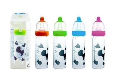 HH婦幼館 ┌出清┐Basilic 貝喜力克D119防脹氣晶鑽玻璃奶瓶120ml/S【2L055D1190】