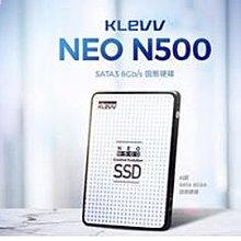 全新 KLEVV 科賦 NEO N500 120GB 2.5吋 7mm SSD 固態硬碟 120G 123456