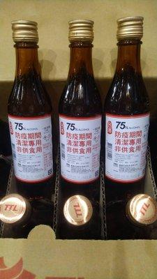 台酒75% 酒精 清潔專用