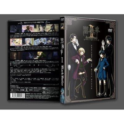 「黑執事第2季」13集全.盒裝高清DVD.日語中字.碟機播放.4碟