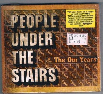 [鑫隆音樂]西洋CD-隱梯之人 People Under The Stairs - 歐姆嘻哈年代精選 (全新)免競標