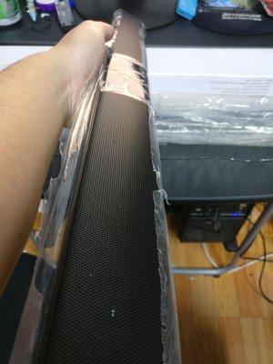 藍芽音箱 BS-28B 新品 很長只能面交或郵寄 無法超取 55X5X5CM 附搖控器、USB線、音訊線 簡易保麗龍包裝