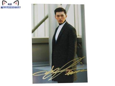 愛的迫降 玄彬  親筆簽名照片 6寸宣傳照 2020.3.13 05