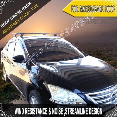全方位勾片調整式鋁合金車頂置放架橫桿For NISSAN SUPER SENTRA/100%MIT+ATRC