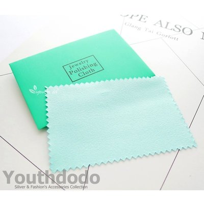 高級小片包裝藍色拭銀布,一片只要8元喲(SMW-007)~*╮柚子多多╭*