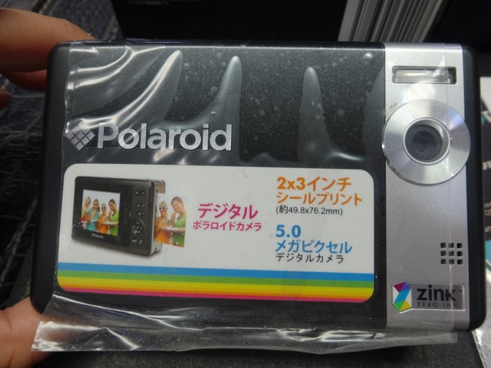 【eWhat億華】出清 Polaroid TWO InstantDigital Camera 即影即印數碼相機 瑕疵品特價 【1】