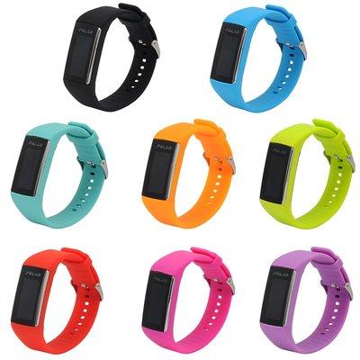 丁丁 Polar 博能 A360 霓虹多彩智能手環矽膠針扣錶帶 polar a360 優質環保材質 佩戴舒適 替換腕帶