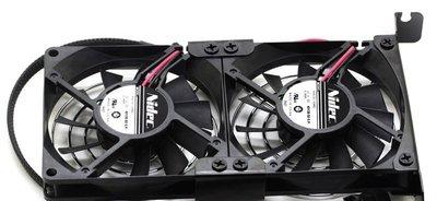 Nidec 雙8cm 超薄1.5cm 顯卡 散熱風扇 超薄15mm 顯示卡 超靜音風扇 ATI Nvidia
