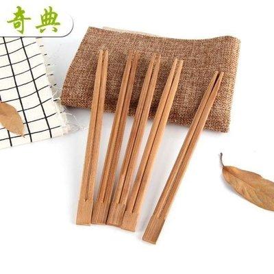 YEAHSHOP 奇典 一次性竹木碳化筷子紙筷套袋紙套Y185