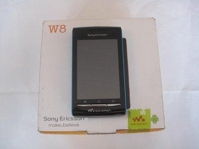 Sony Ericsson W8 Wi-Fi 無線網路 Walkman 音樂播放器 line Facebook、微博
