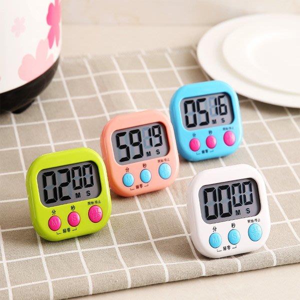 BO雜貨【SV9648-1】大螢幕電子計時器 料理烹飪 競賽 倒數計時  直播 活動計時 碼表 立式 廚房定時器 大按鍵