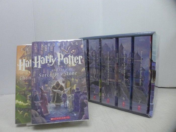 茉莉師大店:直購1800元 J.K.羅琳《哈利波特》含運 原文全套7冊盒裝 2013年 _X_B5